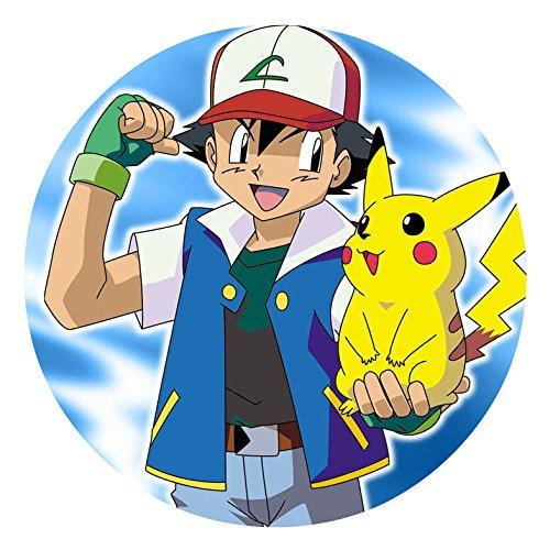 Pokemon Pikachu comestible hoja de imagen foto decoración ...