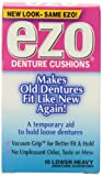 Ezo Denture Cushions, Lower Heavy, 15 Cushions (Pack of 6)