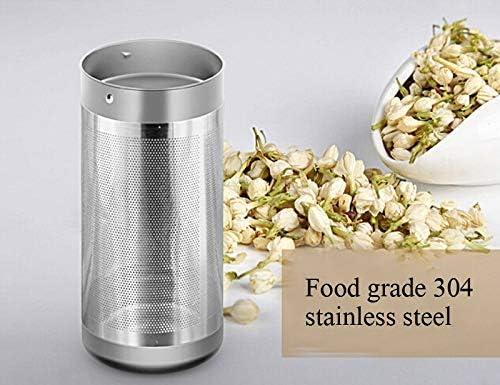 Kettle Bouilloire en acier inoxydable 304 1500 W 1.2 litre capacité LED Éclairage Twolayer Anticald Chaudière Xping