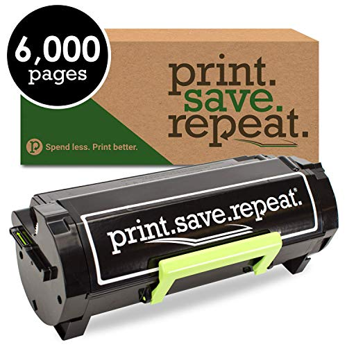 Print.Save.Repeat. Lexmark 56F000G Remanufactured Toner Cartridge for MS321, MS421, MS521, MS621, MS622, MX321, MX421, MX521, MX522, MX622 [6,000 Pages]