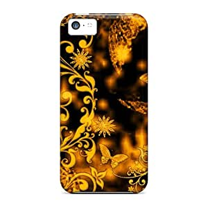 Snap-on Abstract Nature2 Cases Covers Skin Compatible With Iphone 5c