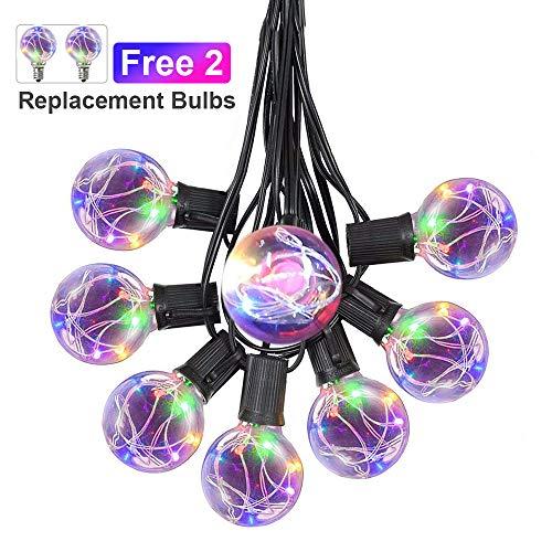 Led Color Changing Globe String Lights in US - 5
