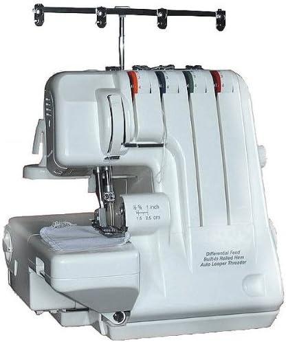 Máquina de Coser Overlock 2, 3, 4 Hilos, Enroscar Fácilmente con ...