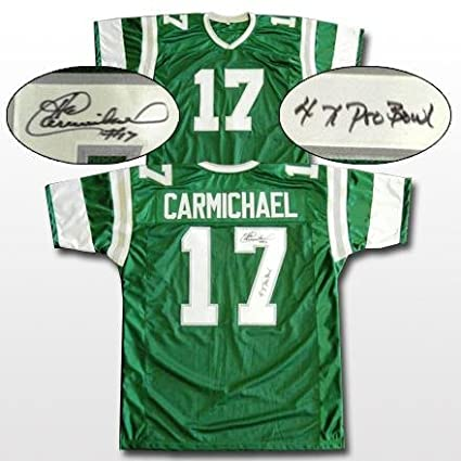 separation shoes 8ffb8 fa6f9 Harold Carmichael Signed Jersey - Inscribed - Autographed ...
