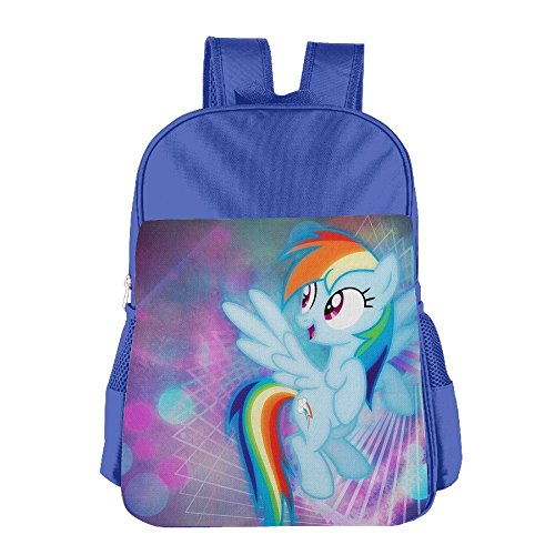 My Little Pony Cute Thickened Canvas School Backpack Laptop Bag Shoulder Daypack (Parks And Recreation Costume Party)