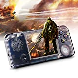 Rongyuxuan Handheld Game Console, Portable Video Game 3'' TFT Screen Classic Handheld Video Game Console with 818 Games 64 Bit Game Console, Birthday Gift for Children and Adults