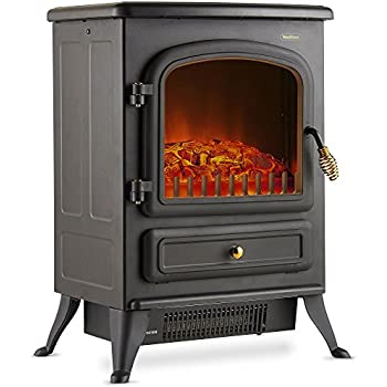 Amazon Com Comfort Zone Electric Stove Style Fireplace