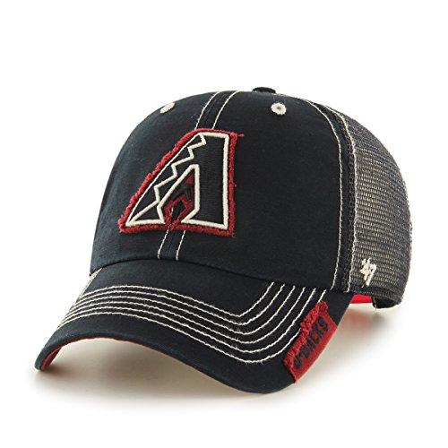 fan products of MLB Arizona Diamondbacks Turner Clean Up Adjustable Hat, One Size, Black