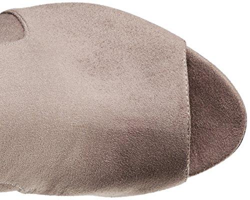 High Nine Lettie Boot Grey West Fabric Women's Knee 7qX78a