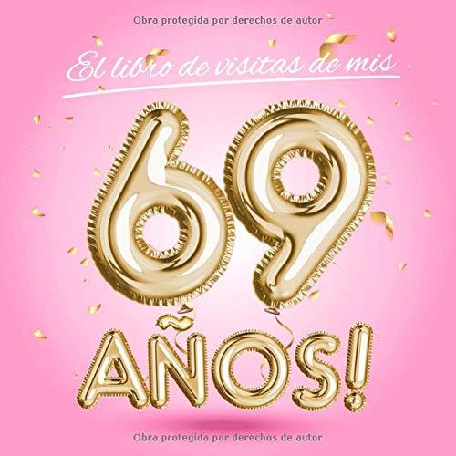 El libro de visitas de mis 69 años: Decoración rosa para el ...