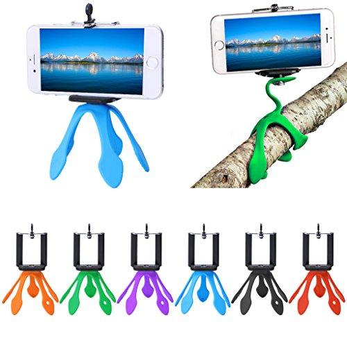 Mini Tripod Mount Flexible Stand Holder For iPhone Xiaomi Sj4000 Sports Camera