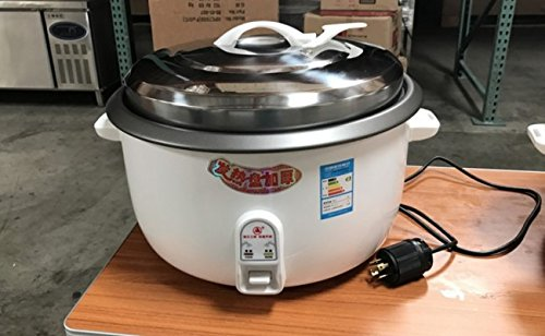 55 cup Restaurant Rice Cooker Commercial Kitchen Steamer Warmer Electric Pot Automatic Rice Cooker Warmer Nonstick Restaurant Shop