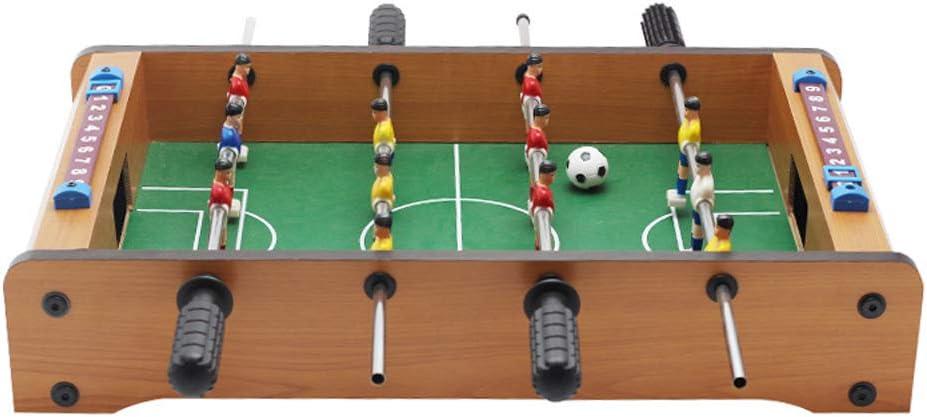 Lixada Mini Futbolín de Mesa, Futbolín de Madera,  Clásico Futbolín, Juguetes de Fútbol para Niños