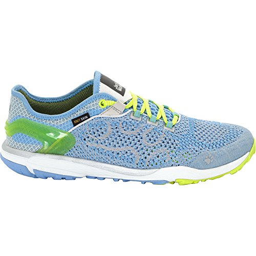 Jack Wolfskin Womens/Ladies Crosstrail Knit Low Fitness Trainers Cool Water