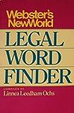 Webster's New World Legal Word Finder