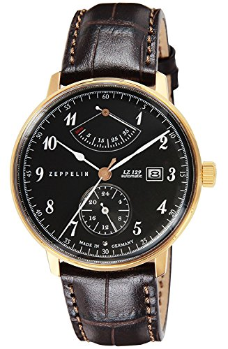ZEPPELIN watch Hindenburg gray dial 7064-2 Men's parallel import goods]