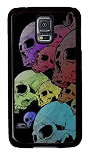 P Skull PC Black Hard Case Cover Skin For Samsung Galaxy S5 I9600 by supermalls