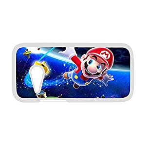 Excited Mario Hoisting His Pipe Wrench White Plastic Case For Iphone 6 4.7 Inch Cover
