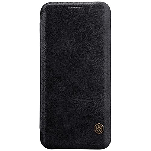 Nillkin Qin leather Wallet Flipcover for Samsung Galaxy S8 Plus  6.2 inch   Black