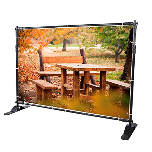 8 x 8 banner stand - 9