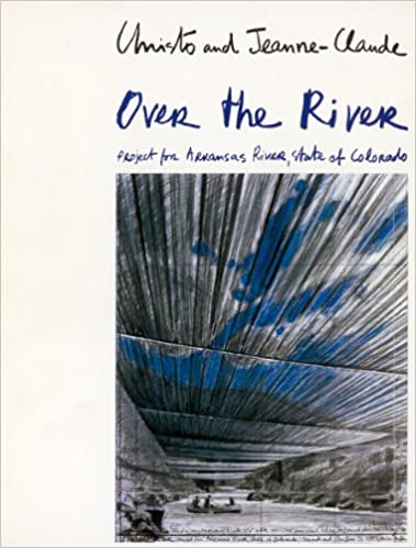 Over the River/The Mastaba: Project for Arkansas River, State of Colorado/Project for United Arab Emirates
