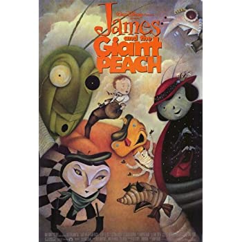 Amazon.com: James and the Giant Peach Poster Movie 27x40 ...