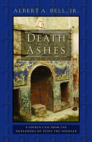 book cover of Death in the Ashes