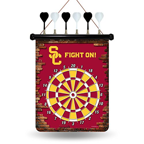NCAA USC Trojans Magnetic Dartboard Magnetic Dartboard Nfl Darts