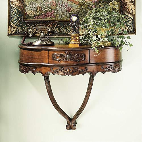 Design Toscano Camellia Wall Console Table