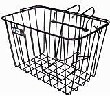 Adie Front Wire Basket with Bracket - Black