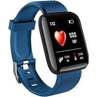 SturdCelleau Bluetooth Smart Watch Fitness Tracker, Touch Screen Smart Wrist Waterproof Smart Bracelet Pedometer Heart Rate/Blood Pressure Monitor Sleep Tracker