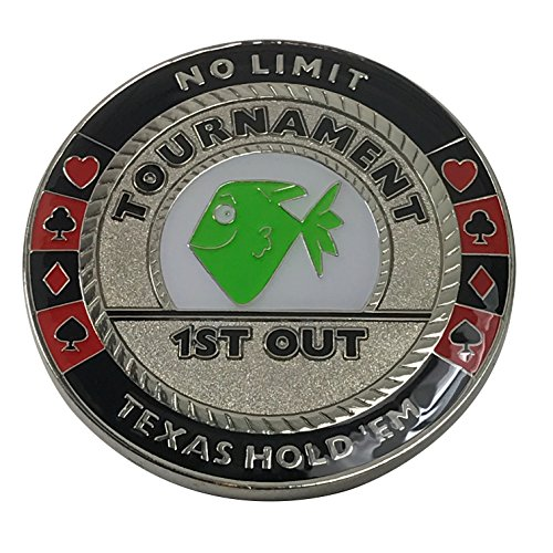 1st Out Funny Poker Trophy Poker Weight by PokerWeights