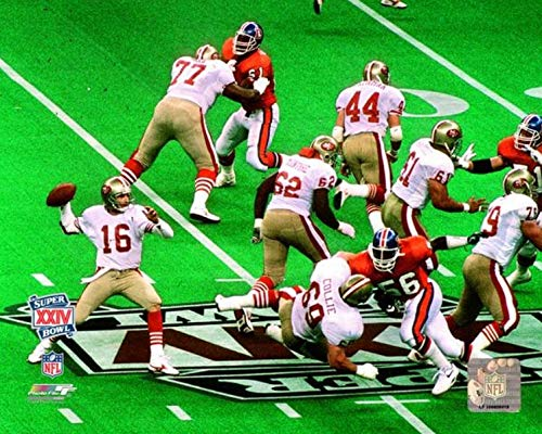 Joe Montana San Francisco 49ers Action Photo (Size: 16
