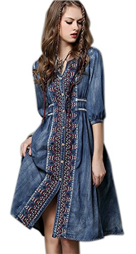 Denim 14 Inch Dress - 1