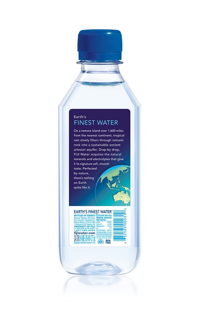 FIJI Natural Artesian Water, 11.15 Fl Oz (Pack of 36 Bottles) by FIJI Water (Image #2)