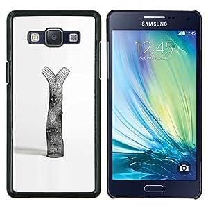 LECELL--Funda protectora / Cubierta / Piel For Samsung Galaxy A5 A5000 -- Árbol Deforestación Naturaleza Amor Arte Simbólico --