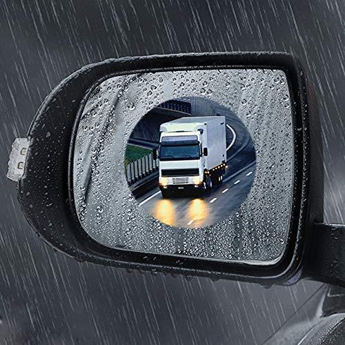 Car Anti Water Rearview Mirror Film for SEAT Leon 1 2 3 MK3 FR Cordoba Ibiza Arosa Alhambra Altea Exeo Toledo Formula -