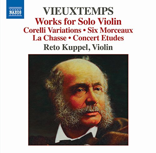 Henry Vieuxtemps: Works for Solo Violin