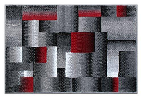 Masada Rugs Modern Contemporary Black