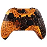 ModFreakz™ Shell Kit Hydro Dipped Gold Dragon Scale For Xbox One Model 1537 Controllers