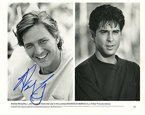 ANDREW MCCARTHY WEEKEND AT BERNIES II SIGNED AUTOGRAPHED 8X10 PHOTO W/COA