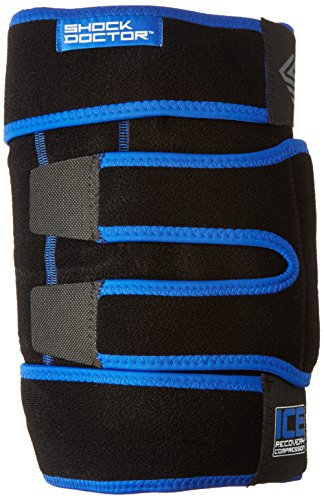 Shock Doctor ICE Pack Recovery Compression Knee Wrap Brace