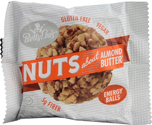 Betty Lous Nut Butter Balls - Almond Butter, 1.4 Ounce - 30 per case.