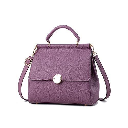 De Solo Bolsa Colgada 11 Polvo 11 Pequeña 17cm Purple Mujer Hombro La Bolso 23 OME Pu amp;QIUMEI 17Cm Bolsa 23 Bolsa FxBwq075