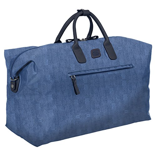 Brics Unisex X x-Travel 22 inch Deluxe Cargo Overnight Bag Weekend Duffel Seesack, Einheitsgröße Jeansblau