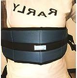 LUCKYYAN Front Release Padded Wheelchair Seats Belt Blue