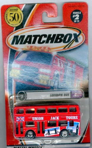 Matchbox 2002-2 of 75 Hometown Heroes 50 Years London BUS 1:64 Scale
