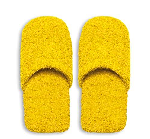 Giallo Caldo Bagno Da 30x12x5 Uomo Pantofole Grigio Cm Spugna Excelsa gzBw4qB