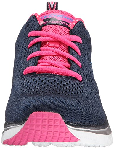 Piece Fit Sneaker Moda Blu nvhp Donna Fashion Alla Skechers Statement 64C1qtw