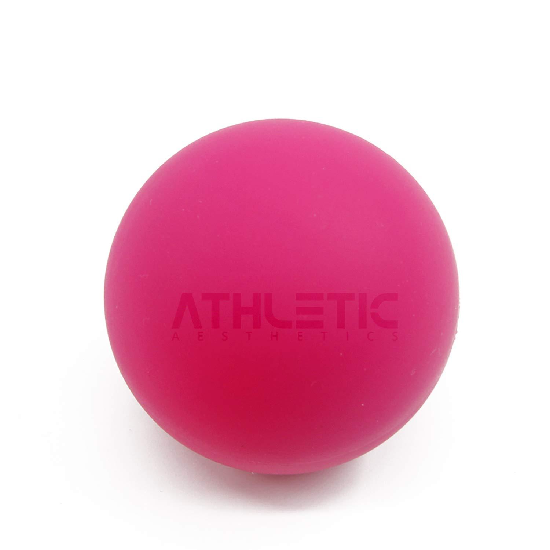 Lacrosse-Ball + Mobility Guide - Als Massage-Ball und Faszien-Ball zur Selbstmassage und zur Triggerpunkttherapie (genaue Behandlung von Verspannungen) geeignet - Anwendung in der Physiotherapie - ATHLETIC AESTHETICS Tyson Fitness GmbH
